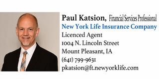 PAUL KATSION  Insurance Agent